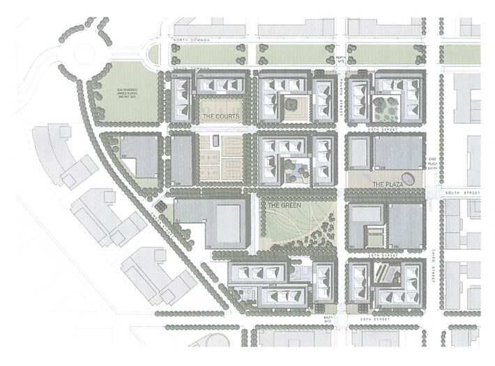Mission Bay Campus Map.Mission Bay Campus University Of California Pwp Landscape