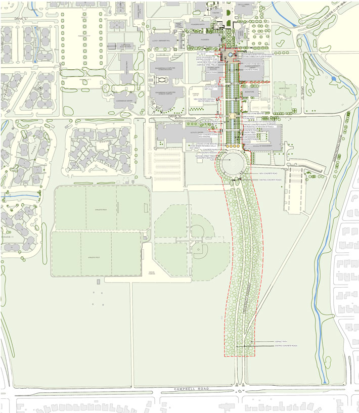 The University of Texas at Dallas | PWP Landscape Architecture